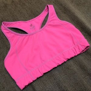 Hot Pink Old Navy Sports Bra